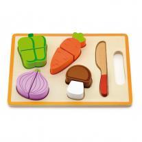 3toysm Дървен комплект зеленчуци