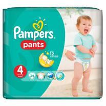 Pampers Pants 4 Maxi / Памперс Гащи 4 Макси Пелени-гащи за бебета и деца 9-14кг х24 броя - Procter & Gamble
