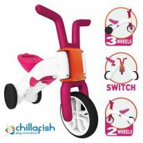 Chillafish Bunzi колело за балансиране 2в1 розов