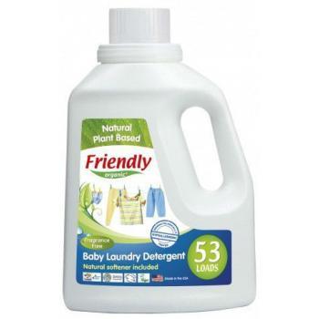 Friendly organic Концентриран гел за пране с омекотител без аромат 1.57л