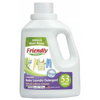 Friendly organic Концентриран гел за пране с омекотител лавандула 1.57л