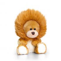 Keel Toys -Плюшено мече с костюм на лъвче, 14 см