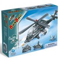 BANBAO Конструктор Хеликоптер 3в1 8478