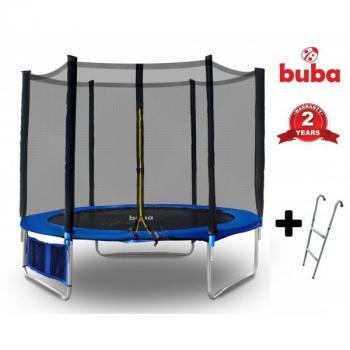 Buba Детски батут 10FT (305 см) с мрежа и стълба