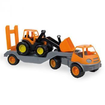 Moni Камион с булдозер (гумени колела)