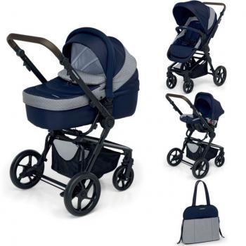 Foppapedretti Детска количка 3Chic Elegant BLUE