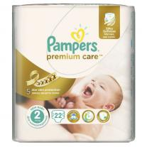 Pampers Premium Care 2 Small Pack Новородени 22 броя