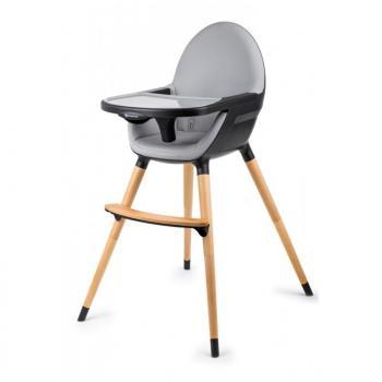 KinderKraft Столче за хранене 2 в 1 FINI, Черно