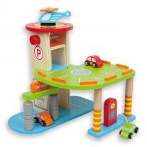 Andreu toys Дървен паркинг