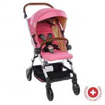 Zizito Детска количка BIANCHI с швейцарска конструкция и дизайн, розова