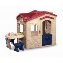 Little Tikes Къща за пикник (сива и червена)