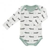 Fresk: Бебешко боди с дълъг ръкав Birds