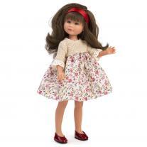 Asi, Кукла Силия, с рокля на цветя, 30 см
