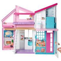 Mattel Кукла Barbie - Къщата на Барби в Малибу на 2 етажа