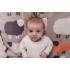 Bizzy Growin Бебешко памучно одеяло 70x90 - The Flock