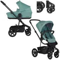 Easywalker Детска количка Harvey2 All Terrain 2 в 1- CORAL GREEN