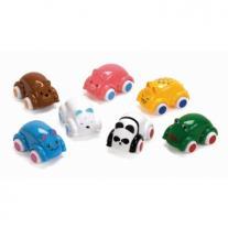 Viking Toys Животинки Майки на колела - 14 см (8 бр микс от 7 модела)